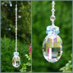 Light Sapphire & Clear Crystal