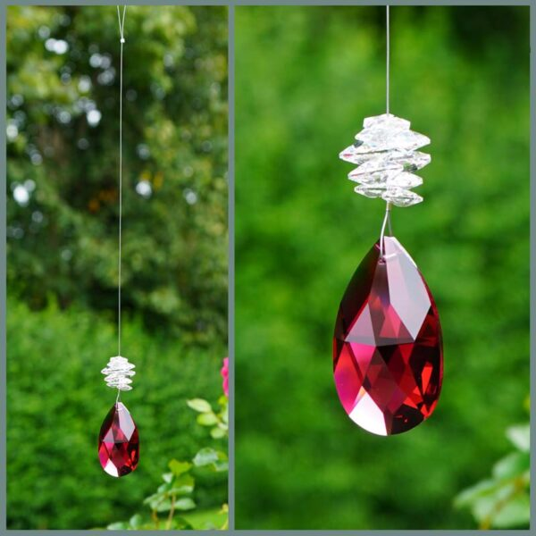 Bordeaux-red-pear-suncatcher-swarovski-crystal-retha-designs